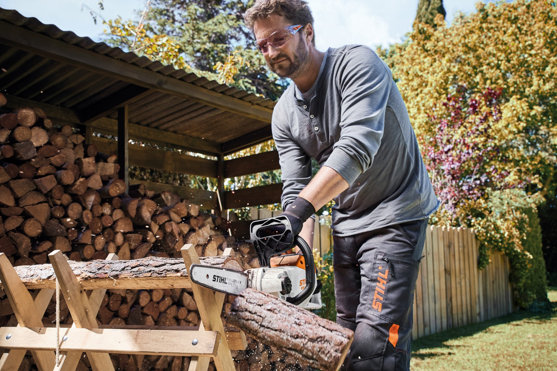 Using a STIHL Chainsaw with STIHL SHOP