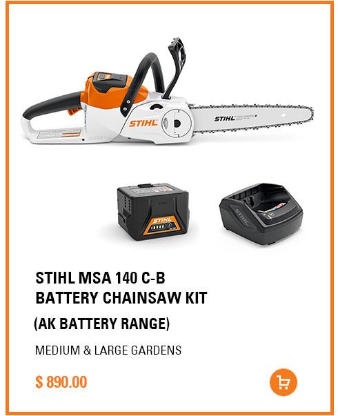 STIHL MSA 140 C-B BATTERY CHAINSAW