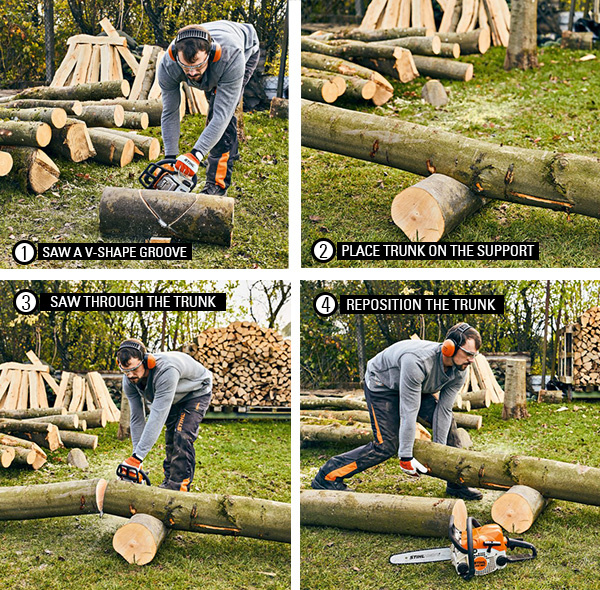 Cutting your firewood