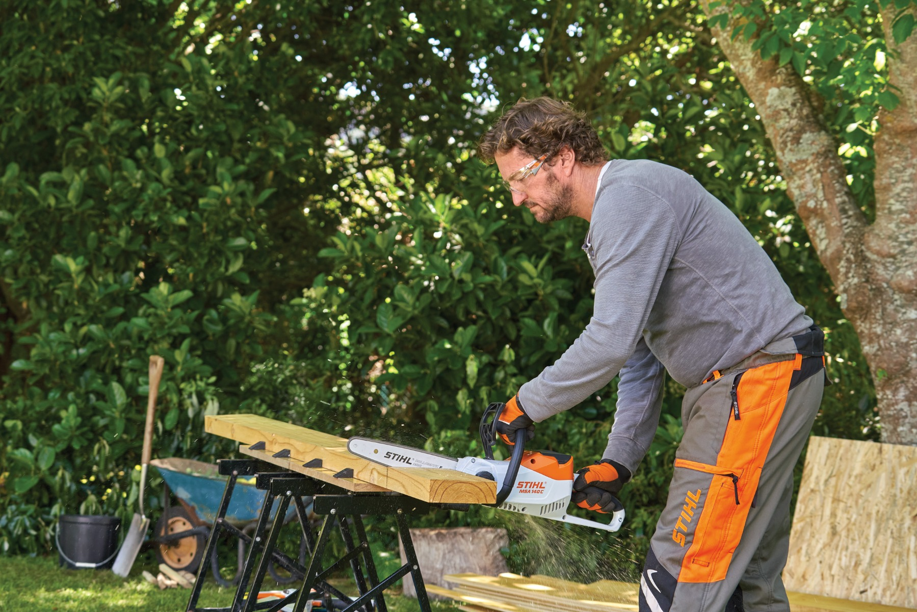 why choose STIHL battery tools quiet