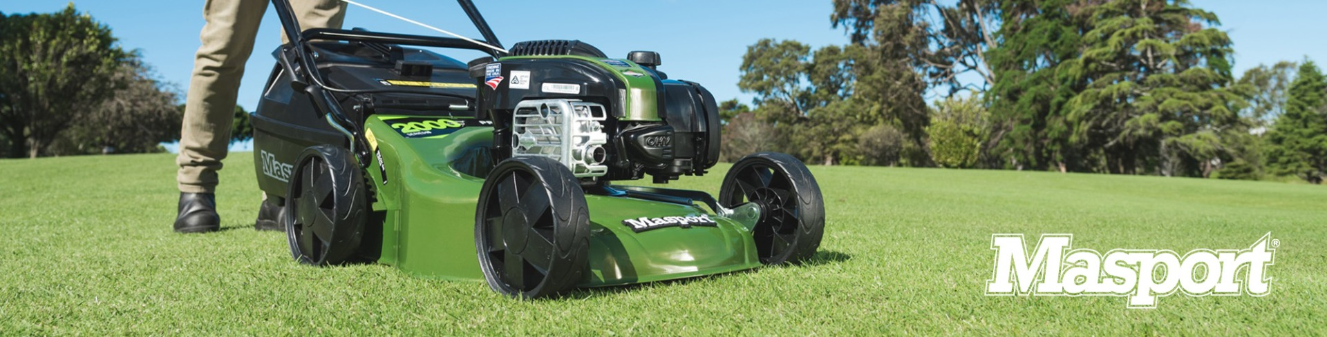 Autumn Promotion Masport petrol lawnmowers