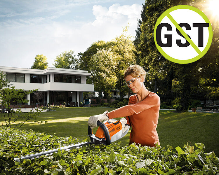 STIHL HSA 66 BATTERY HEDGE TRIMMER KIT (WITH BATTERY & CHARGER)