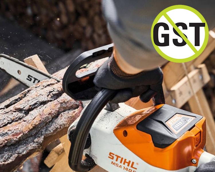 STIHL MSA 140 C-B BATTERY CHAINSAW KIT (WITH BATTERY & CHARGER)