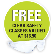 STIHL FREE CLEAR SAFETY GLASSES