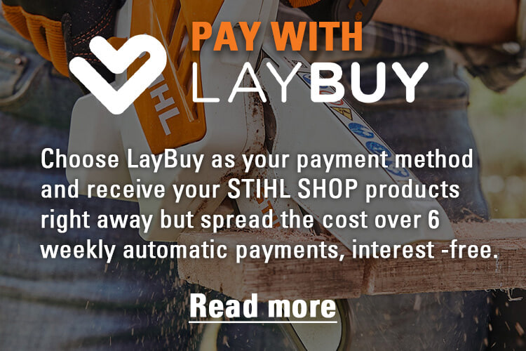 Pay with Laybuy on STIHLSHOP.co.nz