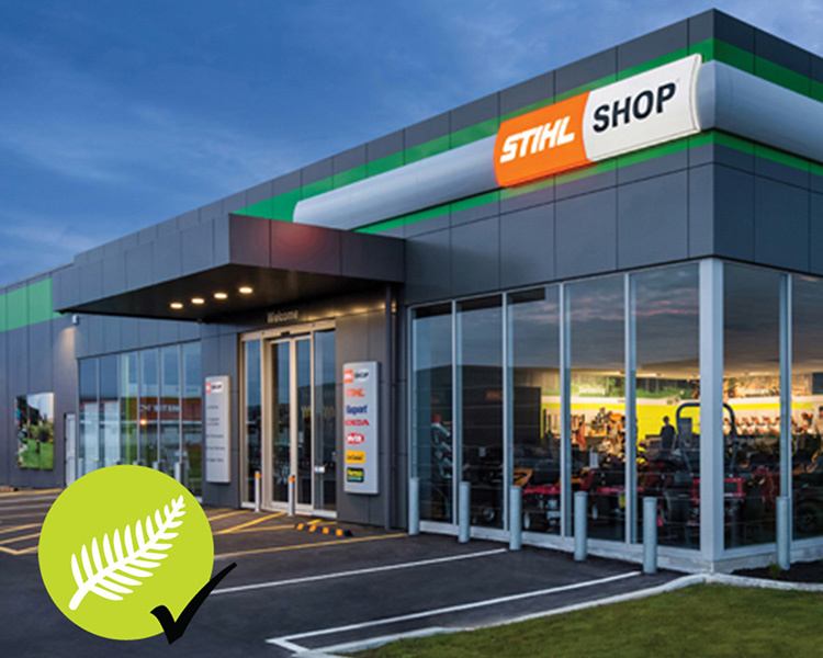 Storefront of a locally owned STIHL SHOP