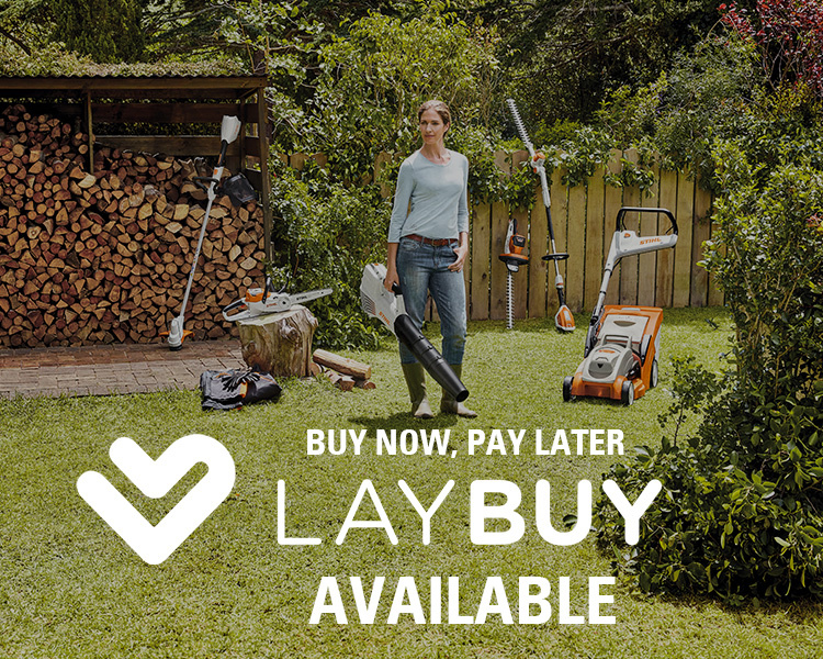 Pay with LAYBUY at STIHL SHOP