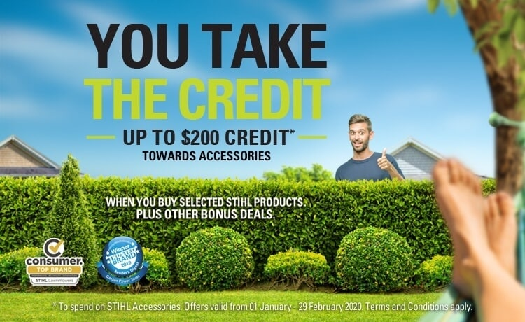 You Take the Credit Promotion