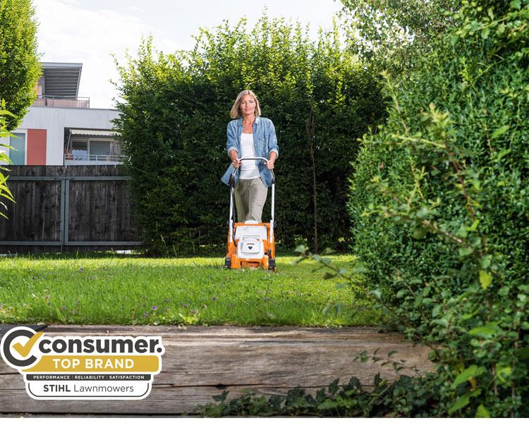 STIHL Cordless Lawnmowers Top Brand