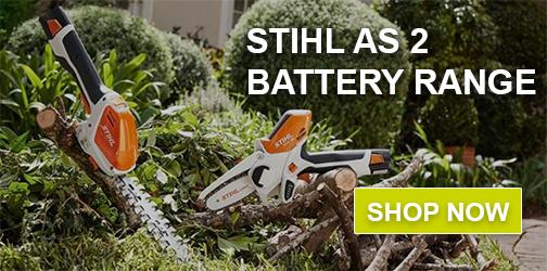 STIHL AS2 battery range HSA 26 GTA 26