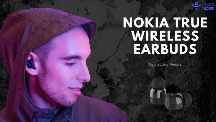 Nokia true wireless earbuds