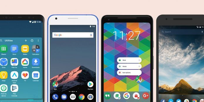 Best Android launchers 2021