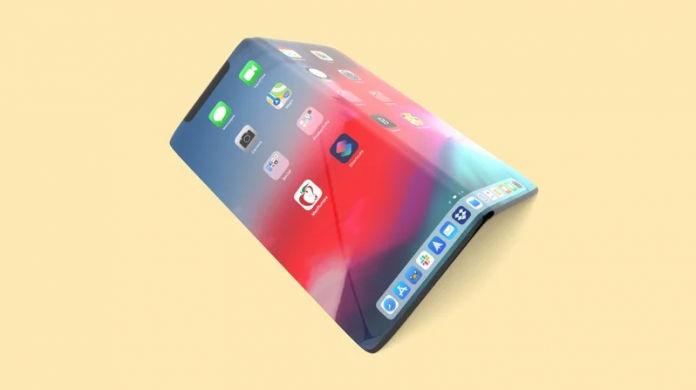 Apple foldable smartphone