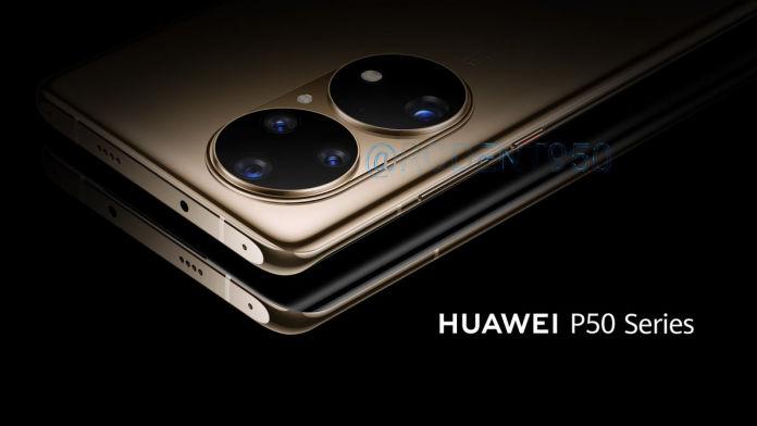 Huawei P50 Series Leaked renders