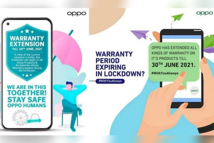 Oppo Waranty Extension
