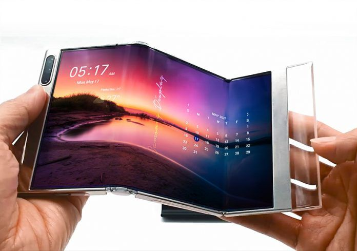 Samsung Teases Z-folding foldable, Rollable, and More
