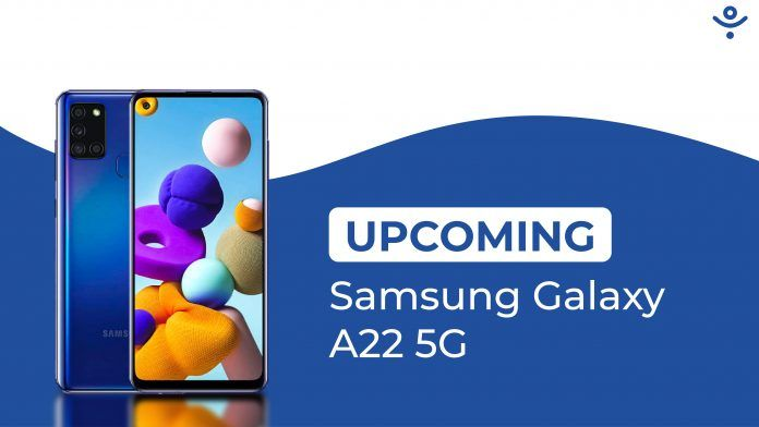 Samsung Galaxy A22 5G Upcoming