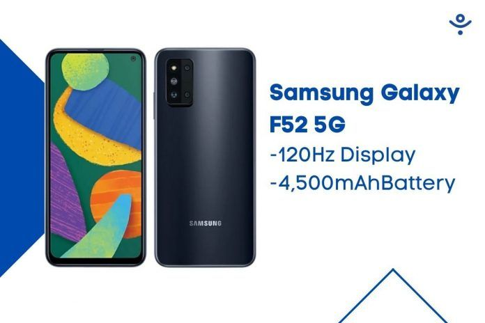 Samsung Galaxy F52 5G price is set at around Rs 22,700.