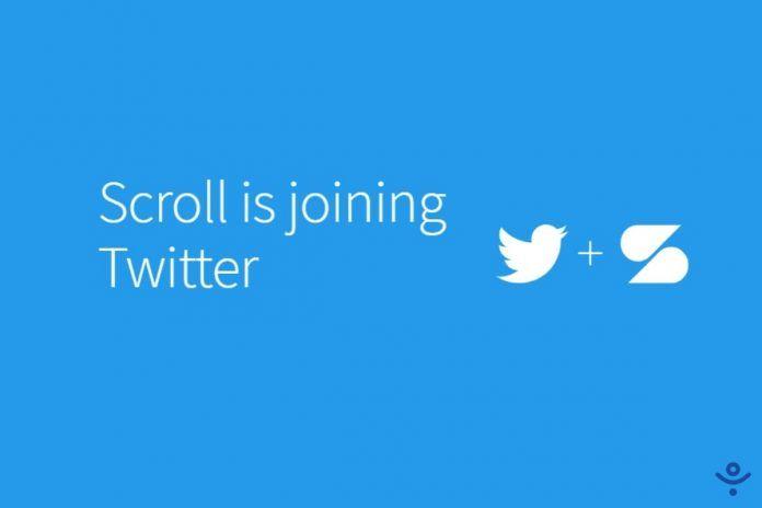 Scroll Joins Twitter