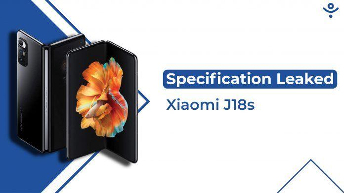 Xiaomi J18s Foldable Smartphone