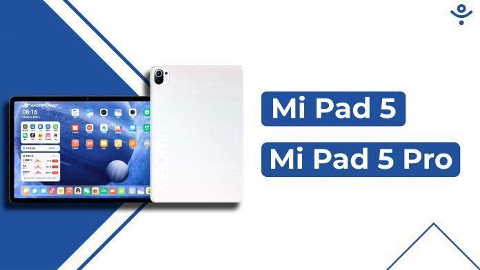 Xiaomi Mi Pad 5 and Mi Pad 5 Pro