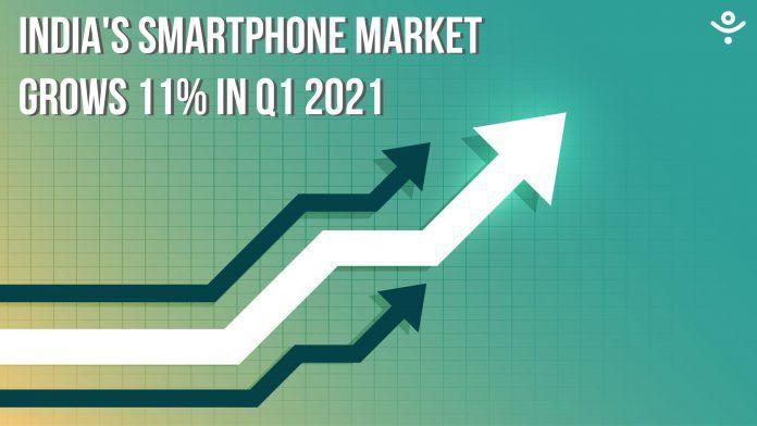 India's Smartphone Market Survey in Q1