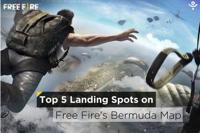 Top 5 Landing Spots on Free Fire's Bermuda Map in May 2021