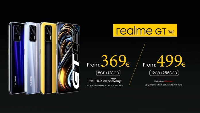 Realme GT 5G Global Pricing Leaked Ahead of Launch
