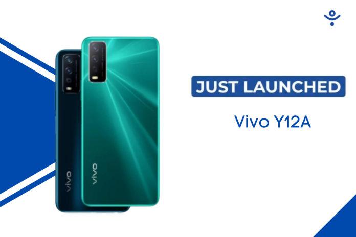 Vivo Y12A Budget Phone