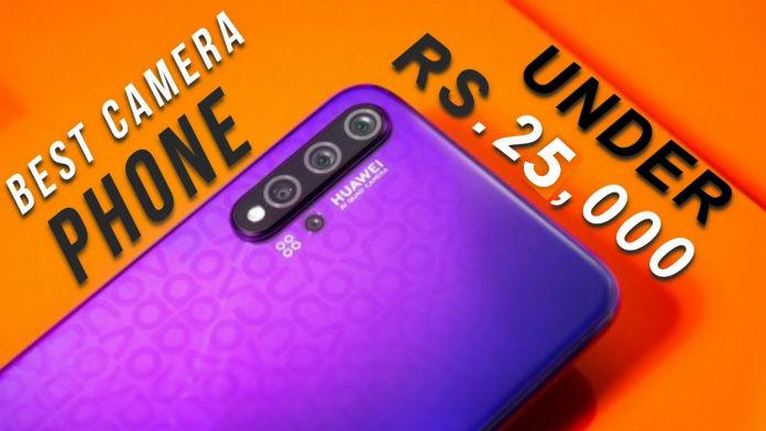 best camera phone under 25,000