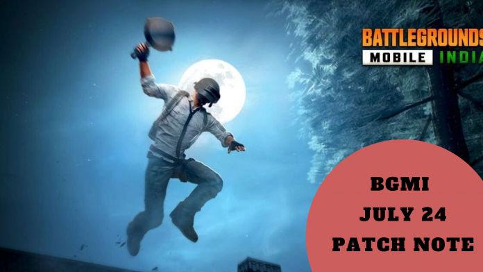 BGMI july 24 patch note 1
