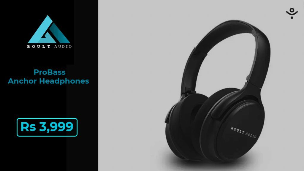 Boult Audio ProBass Anchor Headphones
