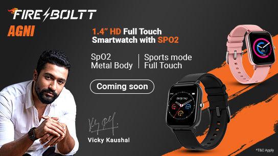 Fire Boltt Agni Watch CLP Banner 14 07 2021 Mobile