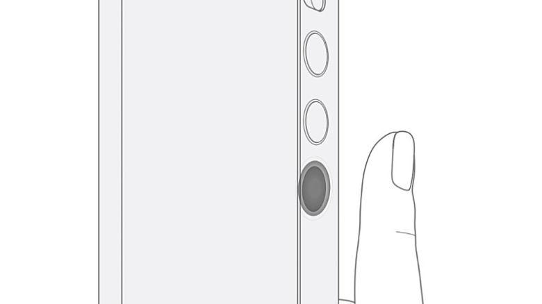 LG Patents Rollable Design Sketch With Side Fingerprint Scanner 1