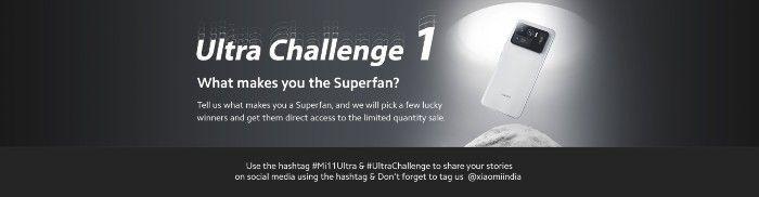 Registration for Mi 11 Ultra Sale Begins in India