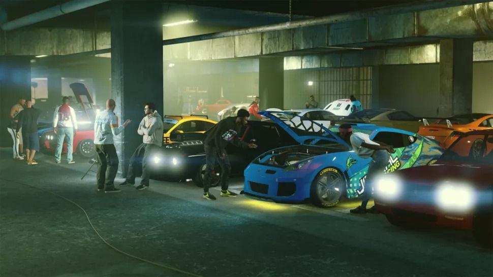 GTA Online New Cars set