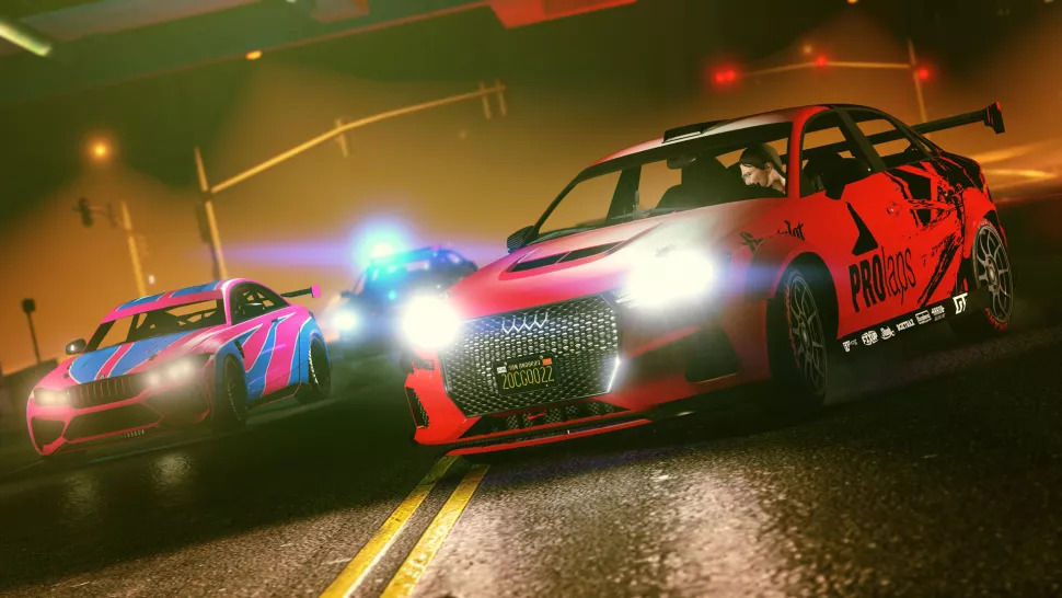 GTA Online New Race Modes
