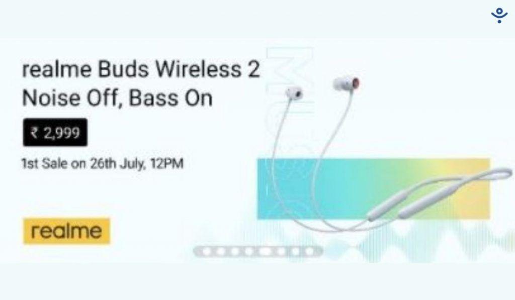 Realme Wireless Buds 2