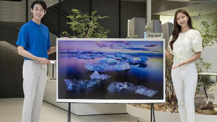 Samsung The Serif 65-Inch TV