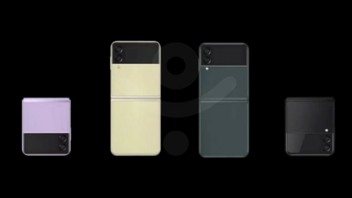 Samsung Galaxy Z Flip 3 Rendering Video Out