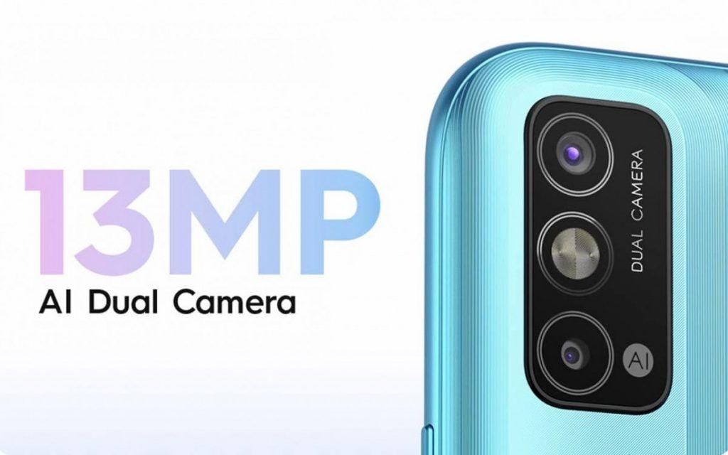13 MP dual camera setup on Tecno Spark Go 2021