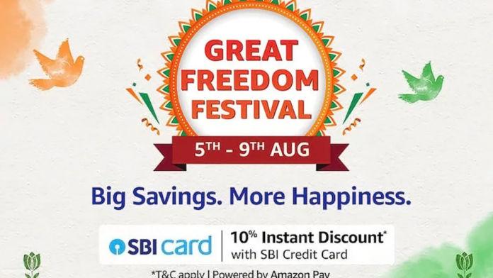 Amazon freedom festival sale 2021