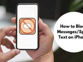 How to Block MessagesSpam Text on iPhone