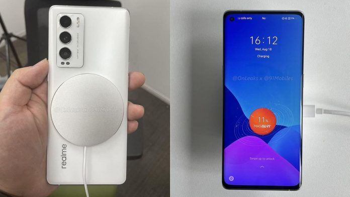 Realme GT Master edition with MagDart