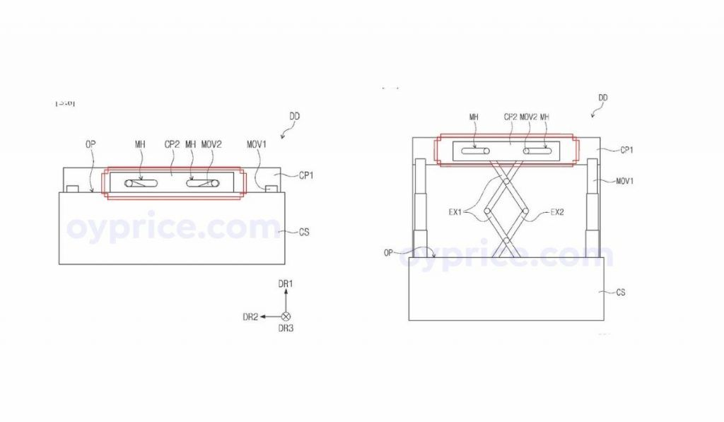 Samsung Rollable Display Concept