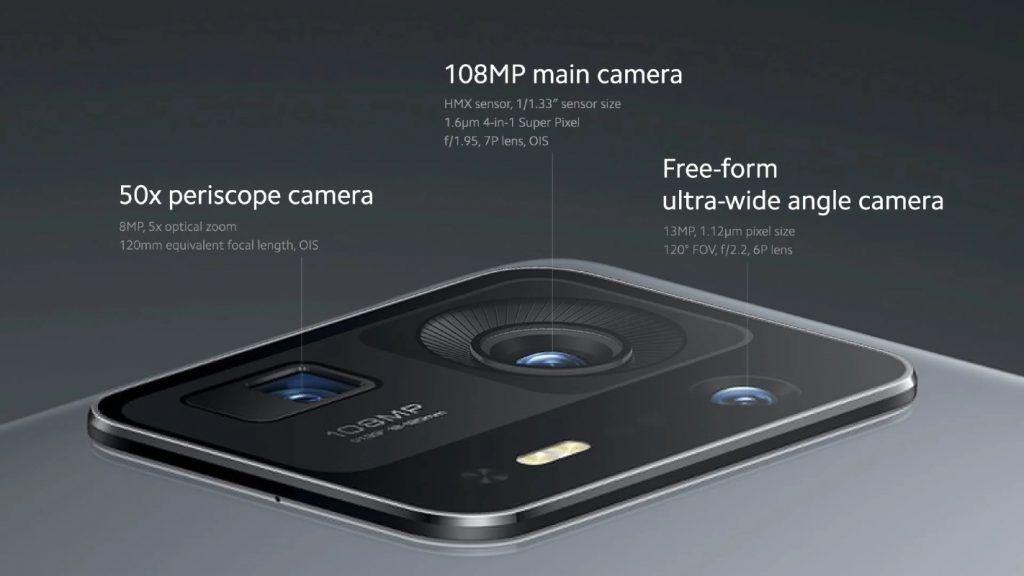 Xiaomi Mi MIX 4 cameras