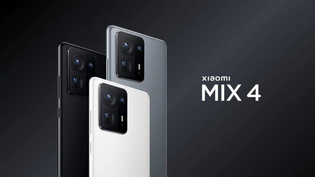 Xiaomi Mi MIX 4 color options