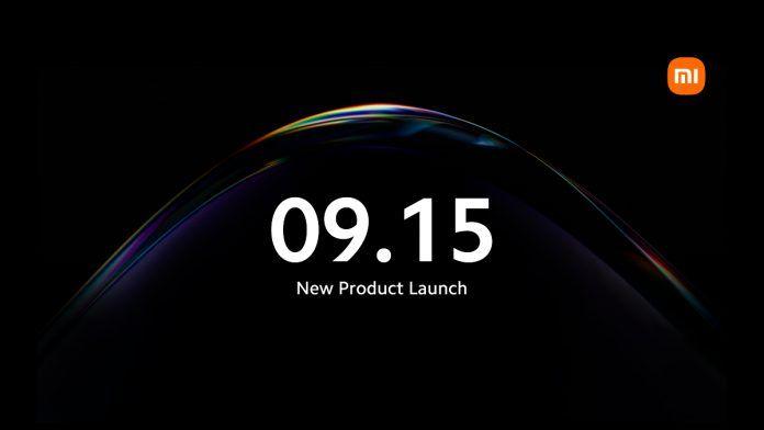 Xiaomi September 15 launch event
