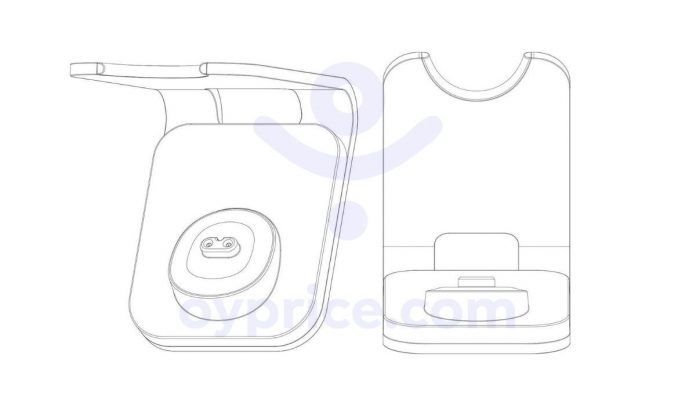 Xiaomi Wireless Charger patent image (1)