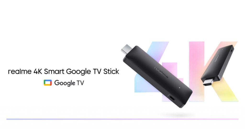 Realme 4K Smart Google TV Stick